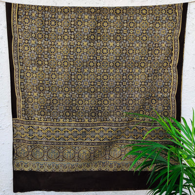 Pure Cotton Malika Ajrak Dupatta
