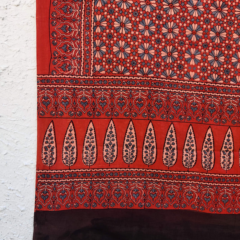 Pure Cotton Nagma Ajrak Dupatta