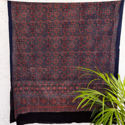 Pure Cotton Nasira Ajrak Dupatta