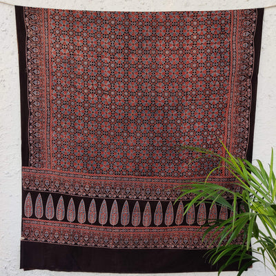 Pure Cotton Nazia Ajrak Dupatta