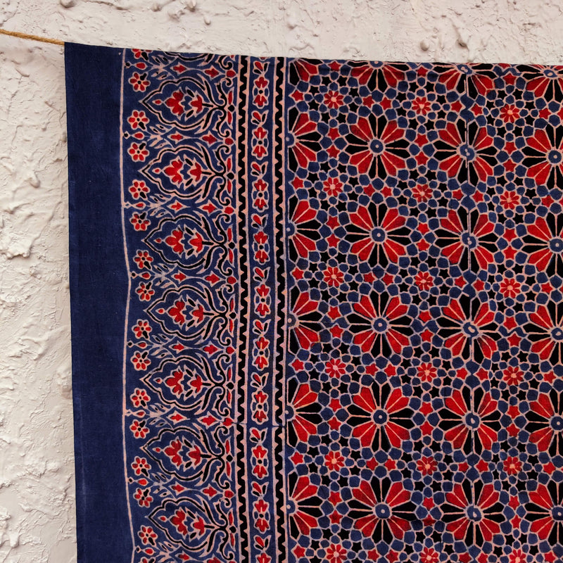 Pure Cotton Sara Ajrak Dupatta