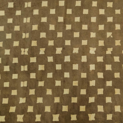 Pure Cotton Special Ankola Kashish With Tiny Squares Hand Block Print Fabric