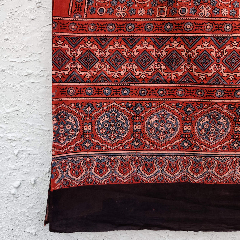 Pure Cotton Tahira Ajrak Dupatta
