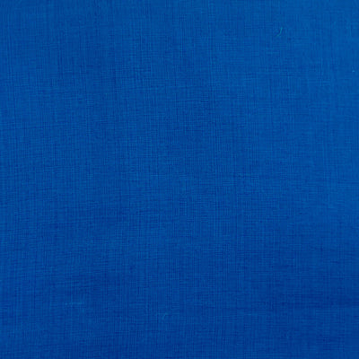 Pure Cotton Textured Blue  Woven Fabric