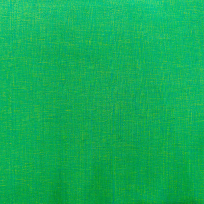 Pure Cotton Textured Seafoam  Woven Fabric