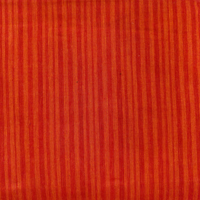 Pure Cotton Mangalgiri Shaded Orange Woven Fabric