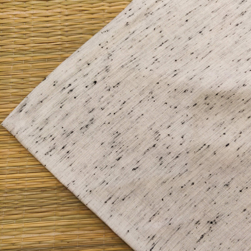 Rayon Cotton With Handloom Woven Tiny Slub Fabric
