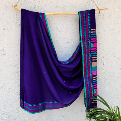 Sanskruti Ashna Handloom Cotton Saree