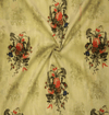 Vintage Off White With Miscellaneous Flowers Muslin Blouse Fabric ( 1.25 Meter)