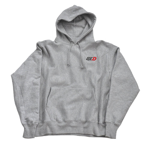 INITIAL D CHAMPION HOODIE - GRY