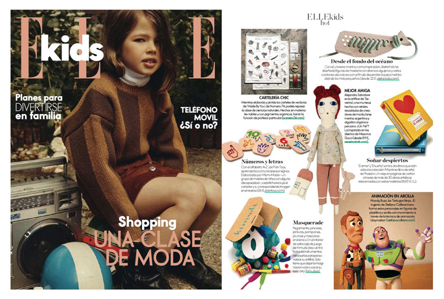 ELLE Kids, October 2019, Spain