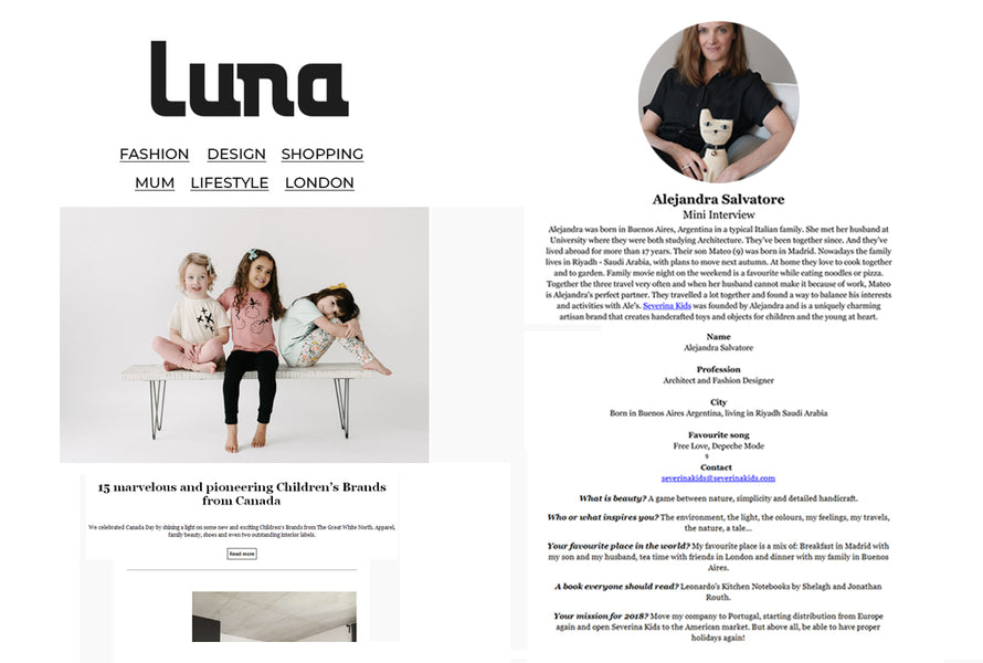 Luna Newsletter, July 2018, UK