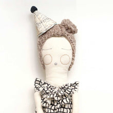 Party Hat Doll Ash Grey