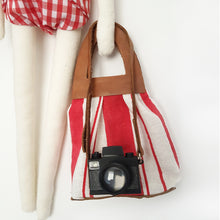 Severina Kids Tribute to Miu Miu Dolls Fashion Blogger New in Red swimsuit & canvas tote