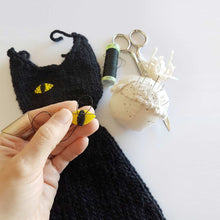 Hand Knitted Cat Lucho