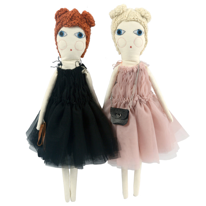 Tribute to Molly Goddard Dolls