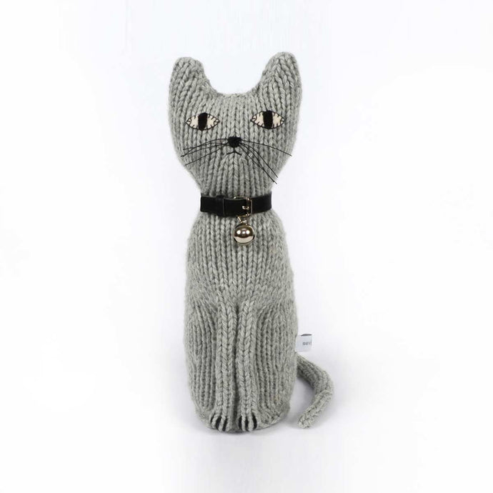 Hand Knitted Cat Vito