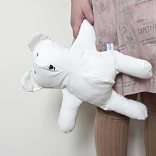 Child holding Severina Kids Off White Cotton Polar Bear