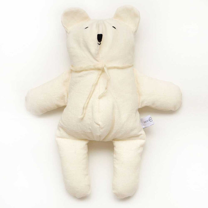 Off White Cotton Polar Bear