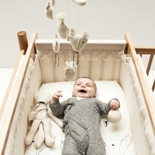 Severina Kids Fox Mobile with baby in cot