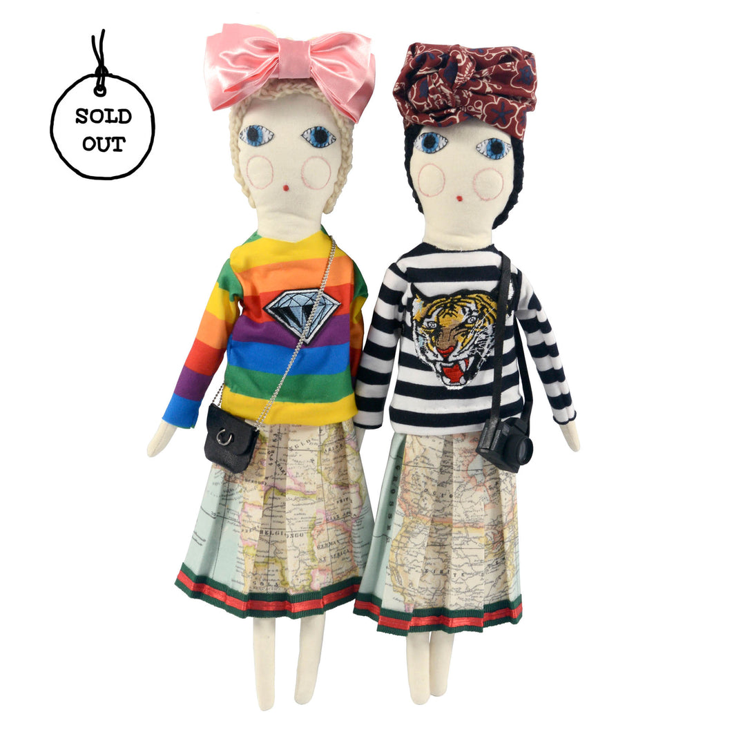 f27e5d7a03d ... Bow Headband · Severina Kids Tribute to Gucci Dolls Fashion Blogger New  outfit clothes Tiger Sweatshirt and Turban and · Tribute to Gucci Dolls ...