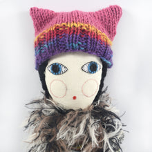 Severina Kids Tribute to Missoni Dolls Fashion Blogger New in Knitted Hat Fuchsia + Multi-Colour
