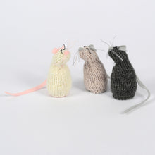 Severina Kids Hand Knitted Mice Trio