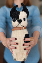 Hand Knitted Dog Hugo