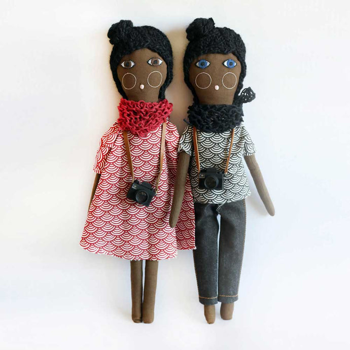 Black dolls together - Severina Kids