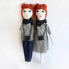 Red Hair Fashion Blogger Doll