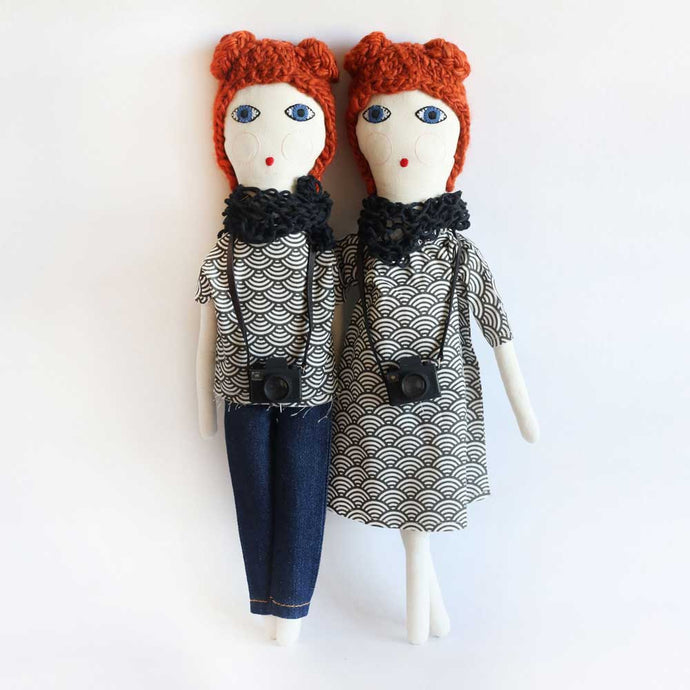 Red Hair Fashion Blogger Doll - Severina Kids