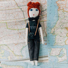 """Let's travel the World""  Dolls Red hair"