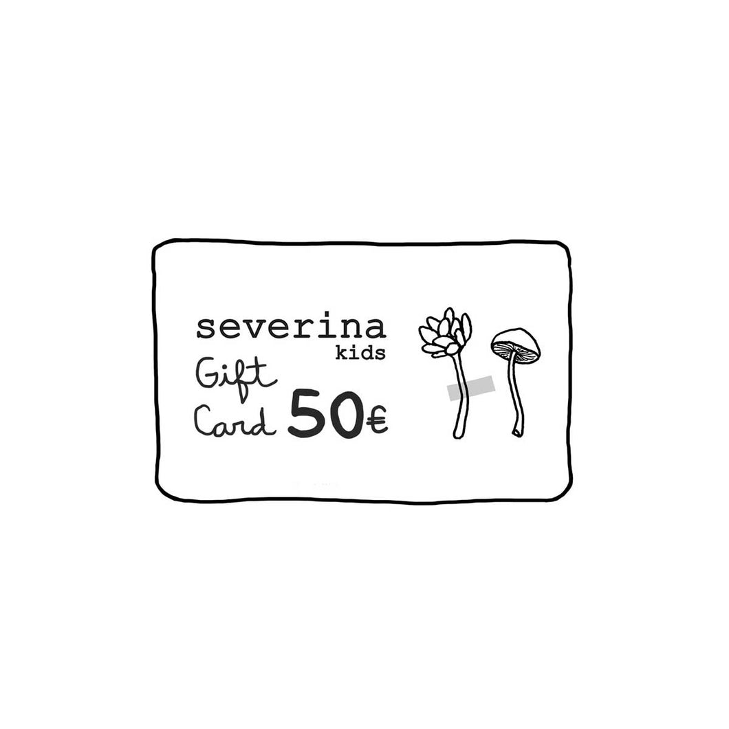 Severina Kids Gift Card 50Eur
