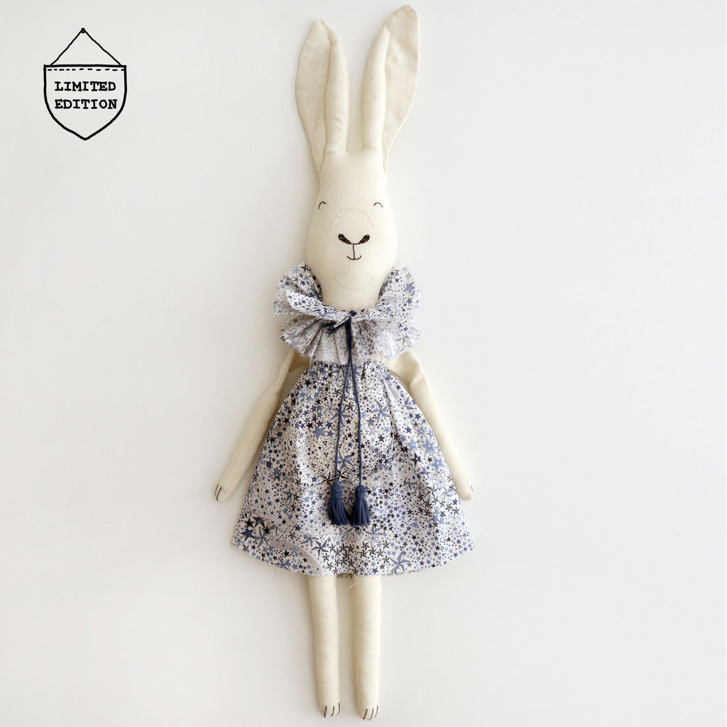 Severina Kids Zoo Londoners Bunny in Pale Pink, Yellow & Blue
