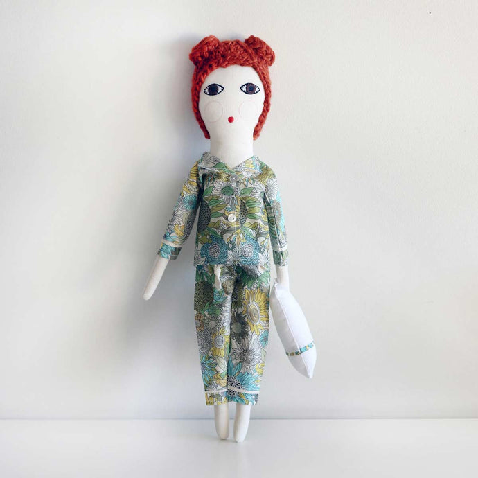 Pyjamas Doll Red Hair