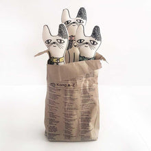 Three cotton cats in a paper bag - Severina Kids