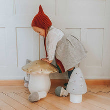 Terracotta Hand Knitted Mushroom - Severina Kids