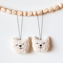 Kitten Ornament Set