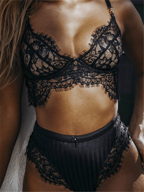 3eb3160adfbac Lace Two-pieces Sexy Lingerie