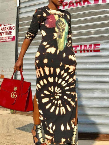 African Beauty Bodycon Dress