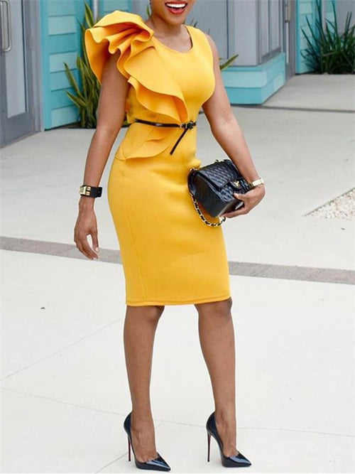 Sleeveless Bodycon Pencil Dress