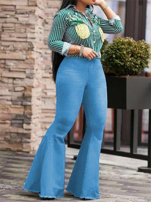 Retro Flared Jeans