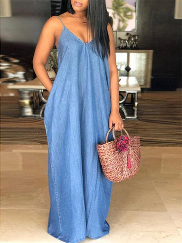 Strappy Slouchy Maxi Dress