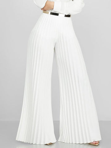 Stripe Flared Pants