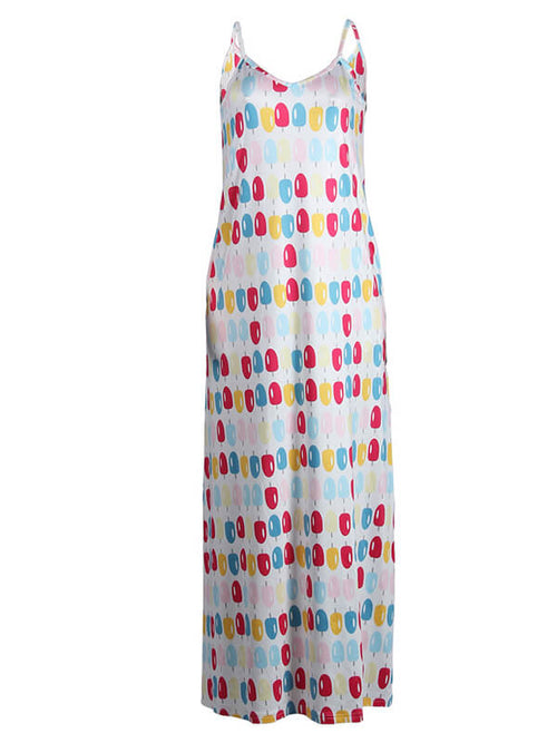 Popsicle Print Cami Dress