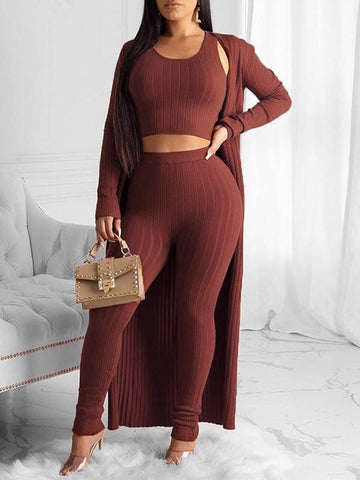 Turtleneck Cutout Belted Jumpsuit