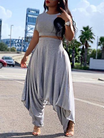 Sheer Combo Tank Top & Pants Set