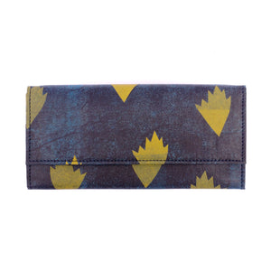 Autumn Blue Wallet