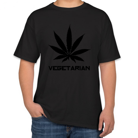 2016 fashion Cannabi Vegetarian Men's T-shirt