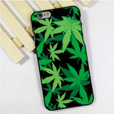 Cannabis Green Leaves Iphone Case